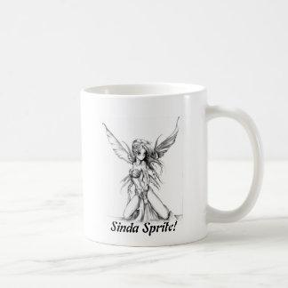 Sinda Sprite! - Dual Design Cup Classic White Coffee Mug