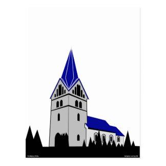 Sindbjerg Kirke - Sindbjerg Church Postcard