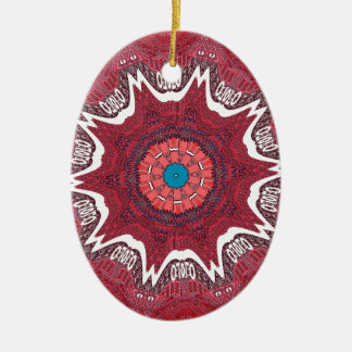 Sindh ethnic tribal pattern.jpg ceramic ornament