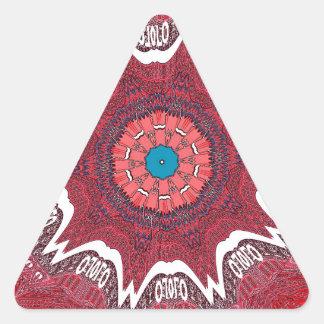 Sindh ethnic tribal pattern.jpg triangle sticker