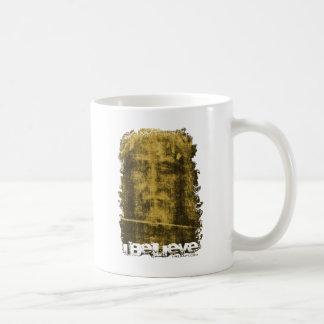 SINDONE CLASSIC WHITE COFFEE MUG