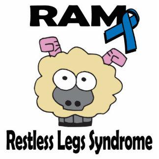 Síndrome agitado de las piernas de RAM Escultura Fotografica