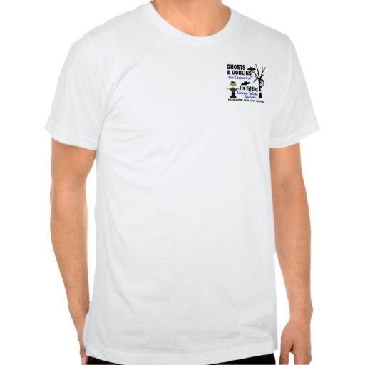 Síndrome crónico del cansancio del CFS del guerrer Camisetas