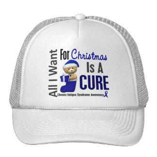 Síndrome crónico del cansancio del CFS del navidad Gorras De Camionero