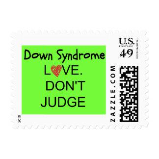 Síndrome de Down/el amor no juzga sellos