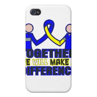 Síndrome de Down juntos diferenciaremos iPhone 4 Funda