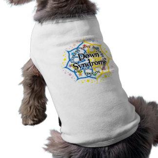 Síndrome de Down Lotus Camisa De Perrito