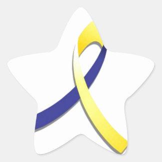 Síndrome de Down Colcomanias Forma De Estrellaes Personalizadas