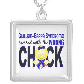 Síndrome de la barra de Guillain ensuciado con el Collar Plateado