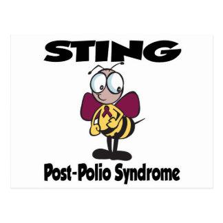 Síndrome de la Poste-Poliomielitis de STING Tarjetas Postales
