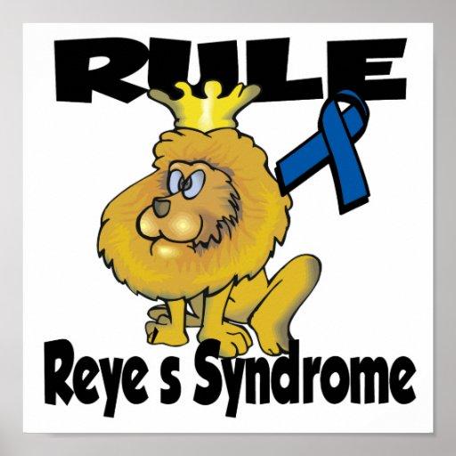 Síndrome de Reyes de la regla Posters