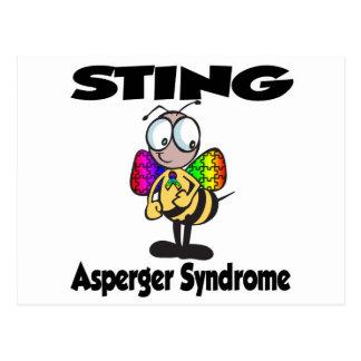 Síndrome de STING Asperger Postales