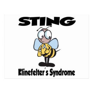 Síndrome de STING Klinefelters Postal