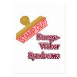 Síndrome de Sturge-Weber Tarjeta Postal