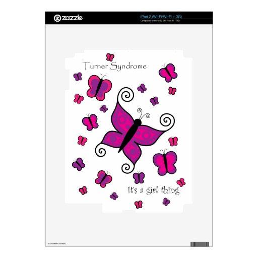 Síndrome de Turner es una piel del iPad 2 de la co Skin Para El iPad 2