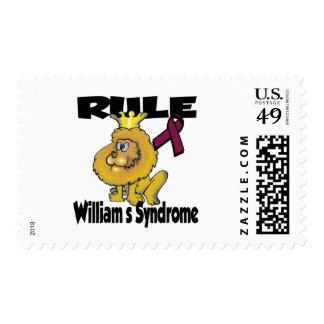 Síndrome de Williams de la regla Timbres Postales