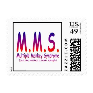 Síndrome múltiple del mono sello postal