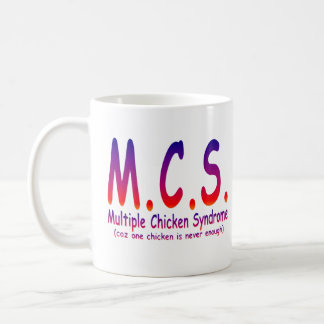 Síndrome múltiple del pollo taza de café