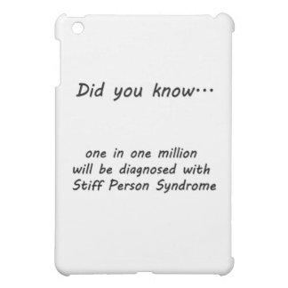 ¿Síndrome tieso de la persona - usted sabía?