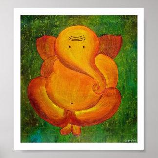 Sinduri Lord Ganesha Poster