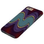 Sine Fractal Horizon Tough iPhone 6 Plus Case