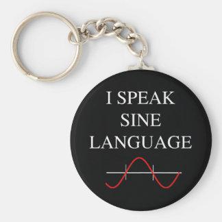 Sine Language Keychain