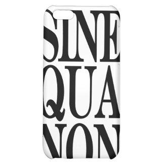 Sine Qua Non Latin Quote iPhone 4 Speck Case iPhone 5C Covers