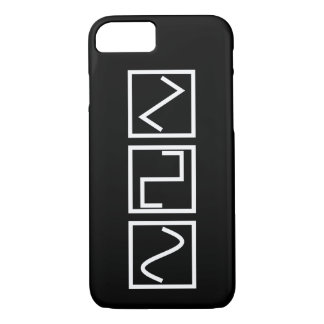 Sine Square Tri iPhone 7 Case