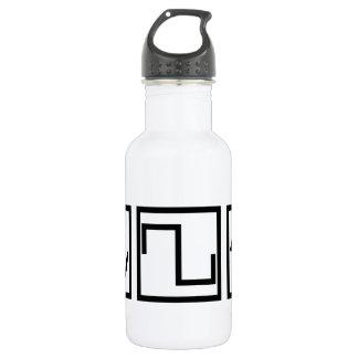Sine Square Tri Water Bottle