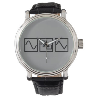 Sine Square Tri Wristwatch