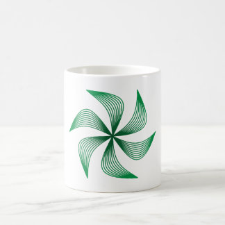Sine waves circle sine wave circle coffee mug
