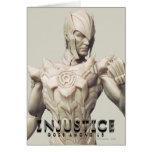 Sinestro Alternate Greeting Card