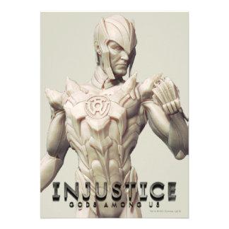Sinestro Alternate Personalized Invitations