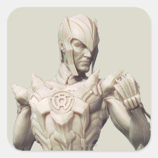 Sinestro Alternate Square Sticker