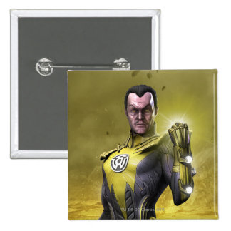 Sinestro Pinback Buttons