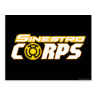 Sinestro Corps Postcard