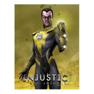 Sinestro Postcard