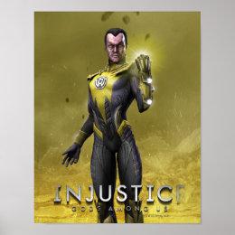 Sinestro Poster
