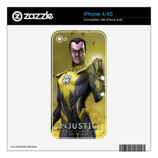 Sinestro Skin For The iPhone 4S