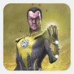 Sinestro Sticker
