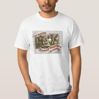 Sinfonía arqueada del salterio - camiseta del poleras