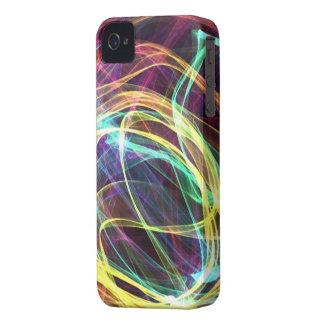 Sinfonía de colores - cubierta del iPhone 4 4S iPhone 4 Carcasas