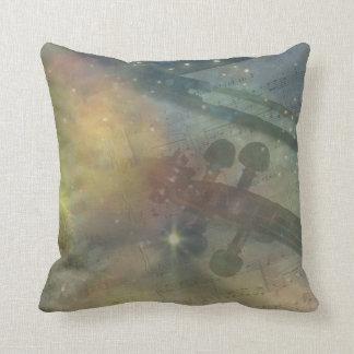 Sinfonía de estrellas cojín decorativo
