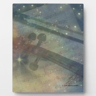 Sinfonía de estrellas placas de plastico
