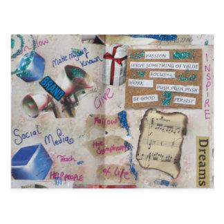 Sinfonía de la vida - postal