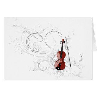 Sinfonía del violín felicitaciones
