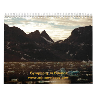 Sinfonía en silencio calendario