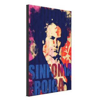 SINFONIA EROICA - BEETHOVEN tribute by Vigo Canvas Print