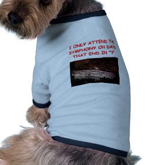 sinfonía camisas de perritos