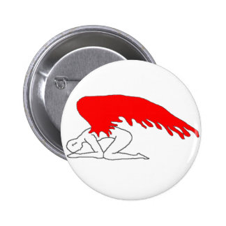 Sinful Angel Pinback Button